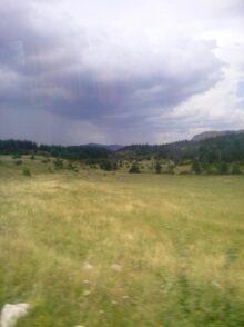 Луга для выпаса скота в Черногории