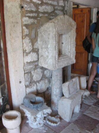 Античные находки, хранящиеся в музее