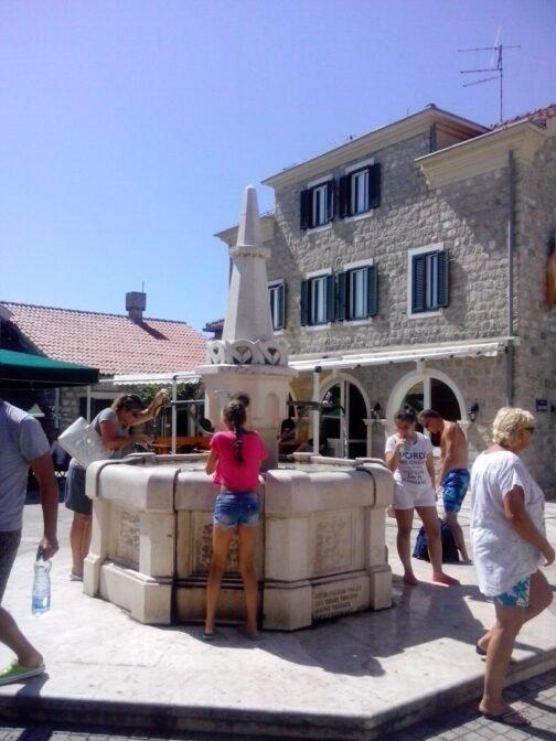 Питьевой фонтан Карача в Герцег-Нови