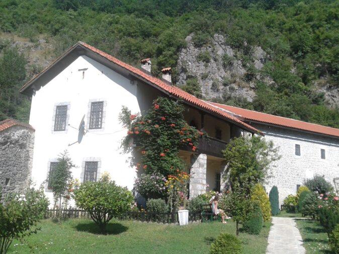 Келії ченців у монастирі Морача