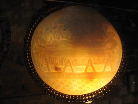 Венеціанське дзеркало в музеї церкви