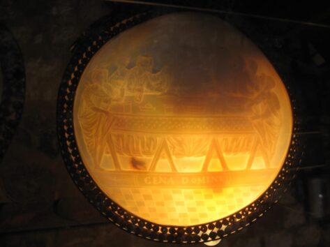 Венецианское зеркало в музее церкви