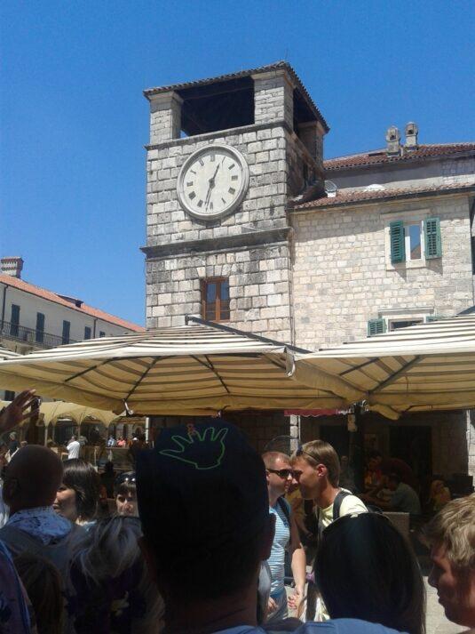 Вежа з годинником у Которі