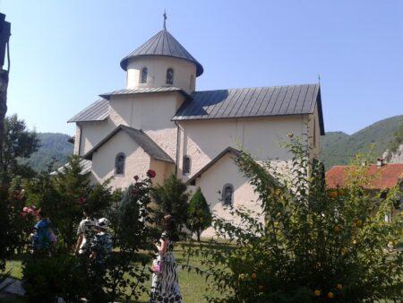 Монастырь Морача - Церковь Успения Богоматери
