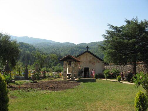 Пасека в монастыре Морача