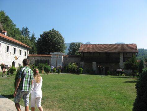 Монастир Морача всередині
