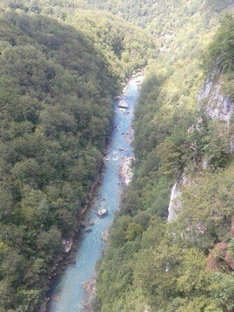 Река Тара под мостом Джурджевича