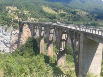 Железобетонный автомобильный мост Джурджевича