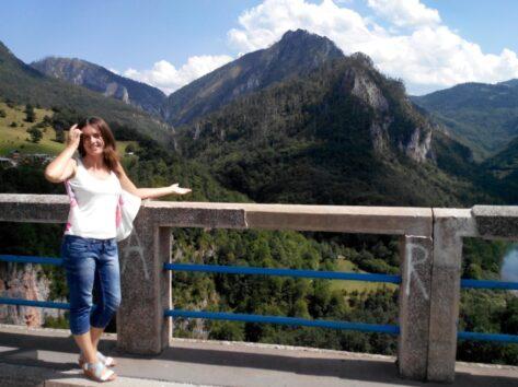 Горы вокруг моста Джурджевича Тара