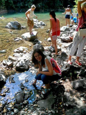 Фото у реки Тара