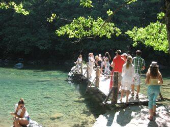 Мостик на реке Тара