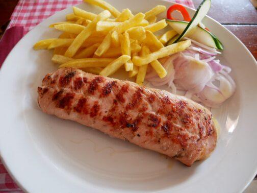 Негушський стейк у нормальному ресторані