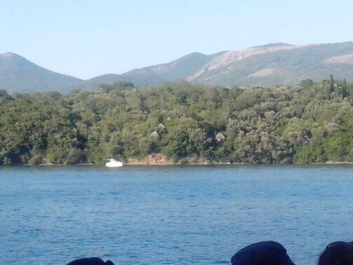 Остров Святого Марка. Шалаши.