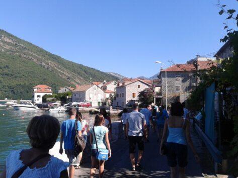 Фото туристів в Перасті