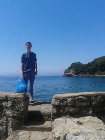 Оглядовий майданчик на пляжі Могрен