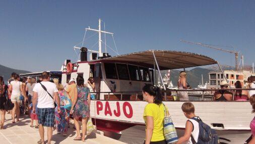 Кораблик Pajo на котором мы катались