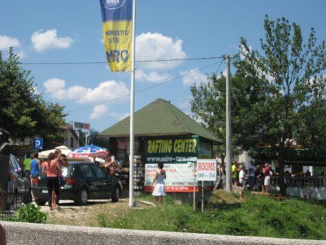 Рафтинг-центр рядом с мостом Джурджевича