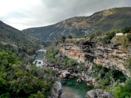 Каньйон річки Морача