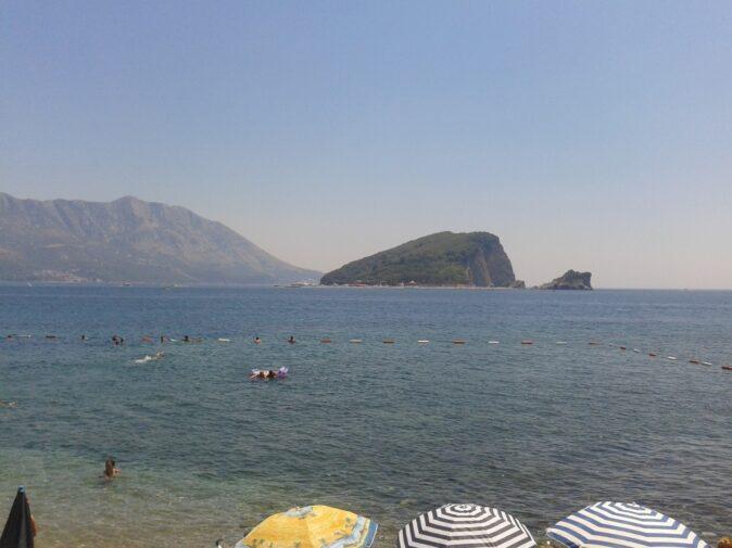 Острів Святого Миколая зі Слов'янського пляжу