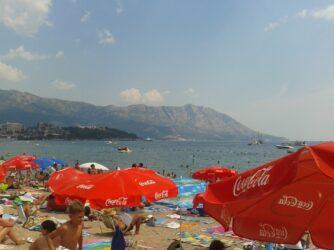 Слов'янський пляж влітку