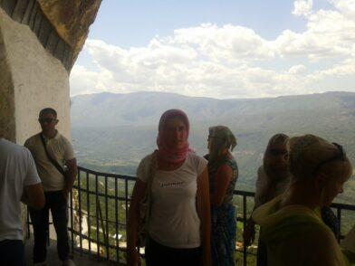 Вид с монастырской горы