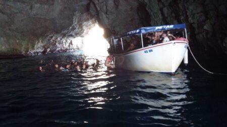 Блакитна печера в Чорногорії