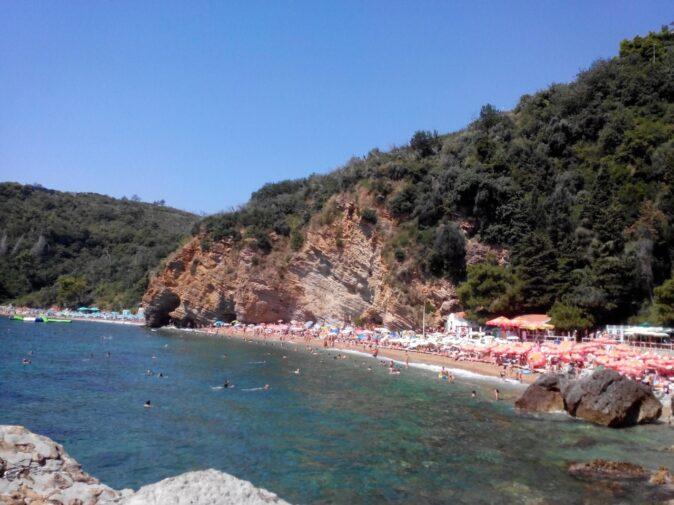 Пляжи Могрен в Черногории