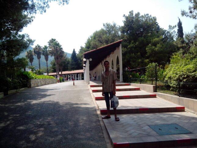 Впечатления о проживании в Черногории - павильоны