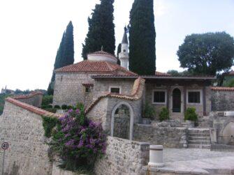 Старий Бар - мінарет в місті