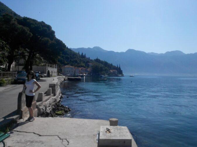 Чорногорія море біля міста Пераст
