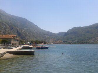Чорногорія море в Которскій затоці