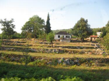 Сельский пейзаж в парке Дурмитор.