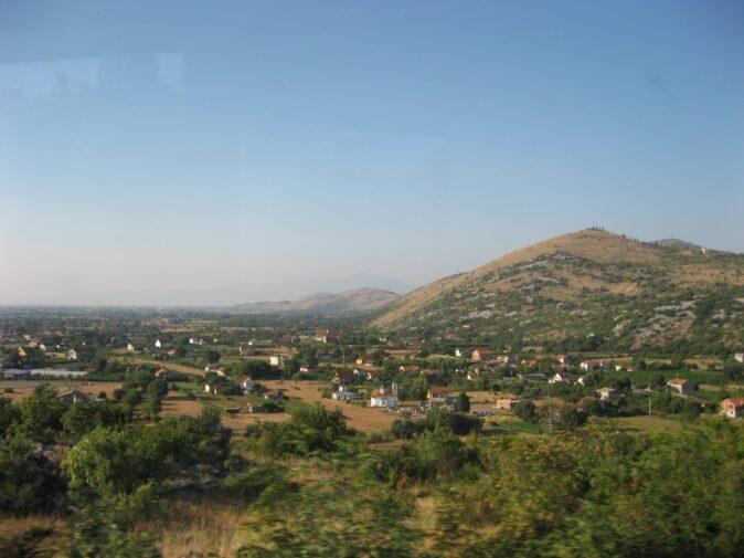 Высокогорные деревушки в Черногории