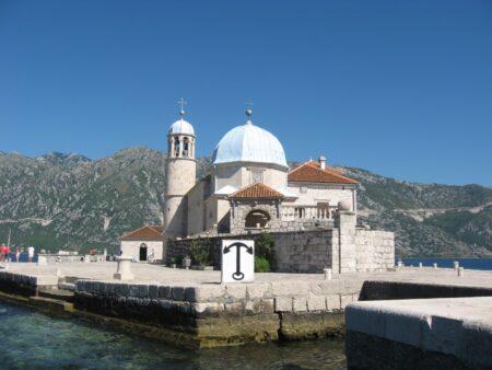 Госпа од Шкрпела - Церква Діви Марії на Утьосі