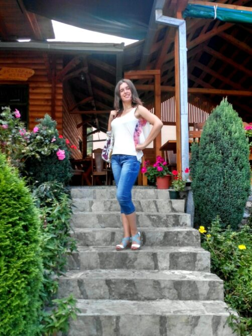 Ресторанчик в каньонах Черногории