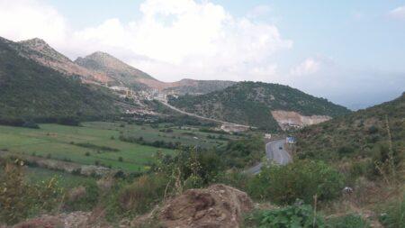Дорога в Албанию из Черногории