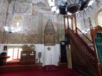 Тиранская мечеть внутри, Албания