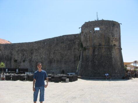 Вежа кріпосної стіни