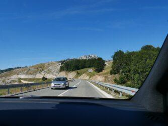 Дороги в Чорногорії на авто