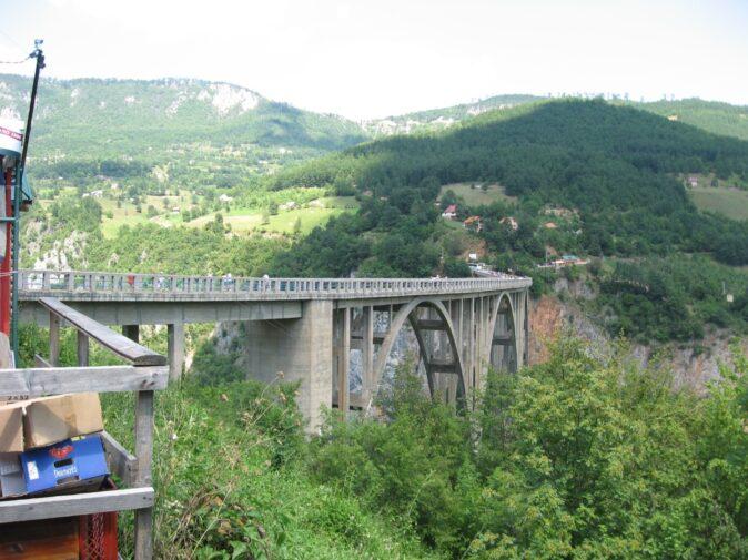 Пам'ятки Чорногорії. Міст Джурджевича