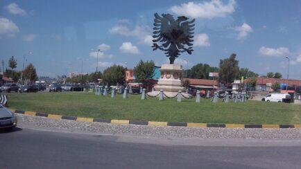 Герб Албании - двуглавый орел
