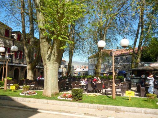 Кафе под платанами в Боснии и Герцеговине, Требинье