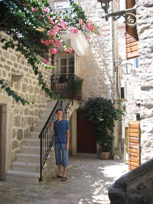 Красивые домики в Старом городе