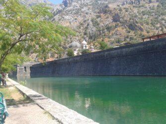 Кріпосна стіна в Которі