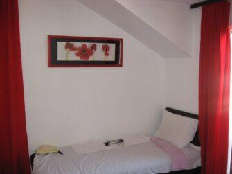 Ліжко в двомісному номері