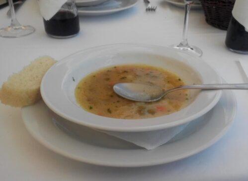 М'ясний обід в Чорногорії