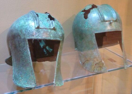 Наследие римской эпохи в музее Герцеговины - шлемы