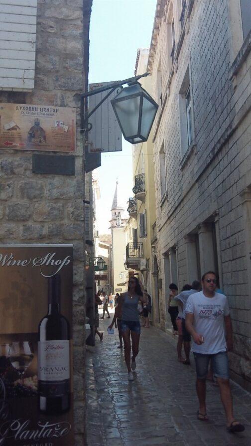 Одна з вулиць в Старому місті