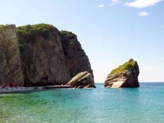 Острів Святого Миколая, пляж
