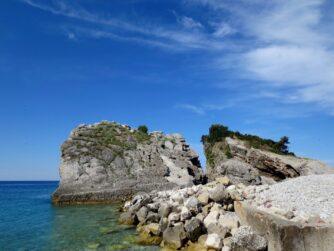 Пляж на острові Святого Миколая